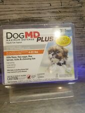 Dog Md Plus 3 Month Supply 3 Flea, Tick & Lice Applicators free shipping in Usa
