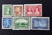 Mint Hinged Canadian Stamps