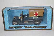 """Matchbox """"Models of Yesterday"""": 1918 Crossley RAF Tender Y-13"""