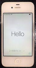 Used Apple iPhone 4s - 32GB - White **Locked** **No Reserve Price**