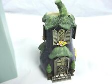 Partylite Eggplant Villa P8617 Tealight Candle Holder Veggie Village #2 In Box