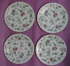 Buckingham By Sadek- Dinner Plates- Lot Of 4- Gold Trim