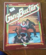 GB4 the vanishing investigator Gangbusters Gang roleplaying RPG tsr module