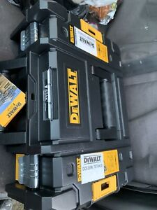 DEWALT TSTAK Plastic Tool Box - Black