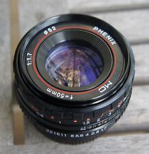 Phenix 50mm F1.7 Manual completo marco lente para cámara con montura Pentax PK