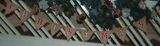 Believe Jute Christmas Bunting - Xmas Decoration - New