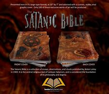 The Satanic Bible - Anton LaVey - Necronomicon by BooksRecovered FREE SHIPPING