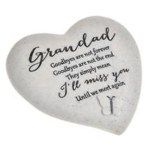 Opa Denkmal Schmetterling Herz Grab Gedanken Schmuck Geschenk