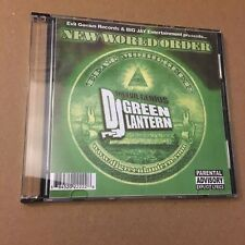 DJ GREEN LANTERN The New World Order RARE NYC Hip Hop Mixtape Mix CD