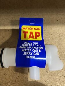 Plastic Tap 20mm Fine Thread Water Container Jerry Cans  DrumTap