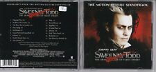Sweeney Todd - (Stephen Sondheim) CD Soundtrack OST Nonesuch ‎