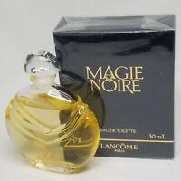 Magie Noire Lancome 1.0 oz 30ml Eau De Toilette SPLASH (Old Formula) Very RARE