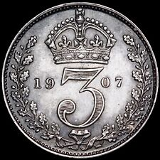 More details for edward vii. maundy threepence 3d, 1907.