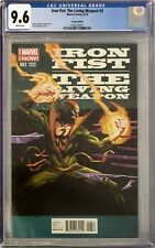 Iron Fist: The Living Weapon #3 CGC 9.6 Jerome Opena 1:25 Incentive Variant!