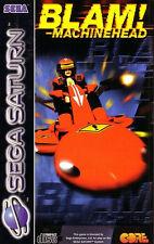 ## Blam!  Machinehead (mit OVP) - SEGA SATURN Spiel - TOP ##