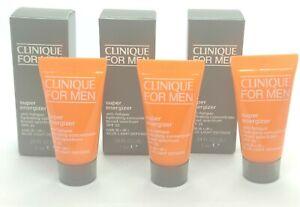 3 x Clinique For Men Super Energizer Anti-Fatigue Hydrating Concentrate 0.24 oz