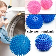 Reusable Dryer Ball Washing Laundry Drying Fabric Softener Cleaning Home New