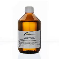 DMSO 99,9% Reinheit 500ml im hydrolytischem braunen Veralglas