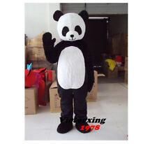 Panda Bear Mascot Costume Animal Fancy Dress Suit Free Shipping