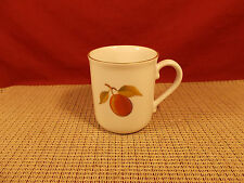 "Royal Worcester China Evesham Gold Mug 3 3/4"" Peach/Blackberry"