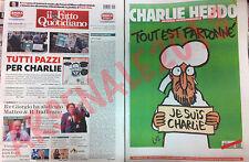 CHARLIE HEBDO allegato a IL FATTO QUOTIDIANO del 15/01/2015 TOUT EST PARDONNE'