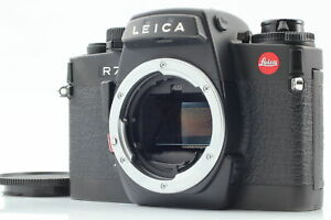 [Almost MINT] Leica R7 Black 35mm SLR Film Camera Body From JAPAN