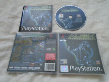 Alien Resurrection PS1 (COMPLETE) shooter FPS Sony PlayStation rare black label