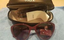 VOGUE 5105S 24188H Sunglasses Purple  55 19 140 New