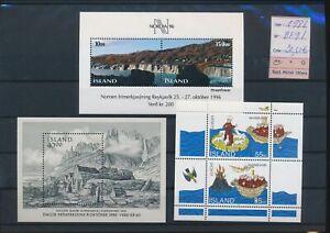 LN91157 Iceland 1988 mixed thematics sheets MNH cv 20,5 EUR