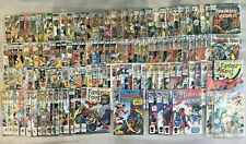 VINTAGE HUGE FANTASTIC FOUR 129 COMIC BOOK LOT PLUS WHAT IF AND MEPHISTO SERIES