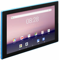 "EVOO EV-A-101-3-BL 10.1"" Android Tablet, Quad Core, 16GB Storage, Micro SD"