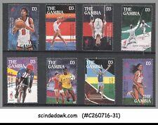 GAMBIA - 1996 XXVI OLYMPIC GAMES, ATLANTA '96 - 8V - MINT NH