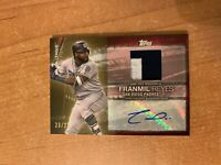 2020 Topps Series 1 - Franmil Reyes - Major League Material Auto Relic #d 23/25