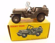 Dinky Toys F n° 80 B Jeep Hotchkiss Willys en boîte