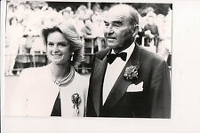 Photo Card Johannes, 11th Prince of Thurn & Taxis & Princess Gloria
