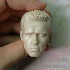 Custom 1/6 scale blank Head Sculpt Arnold Schwarzenegger T800 unpainted