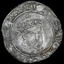More details for henry viii, posthumously under edward vi, 1547-51. groat. canterbury mint.