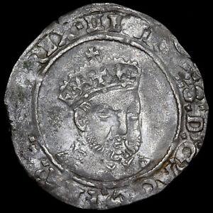 Henry VIII, Posthumously Under Edward VI, 1547-51. Groat. Canterbury Mint.