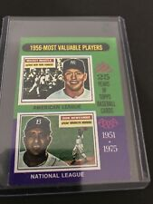 1956- Most Valuable Players Topps Baseball Card