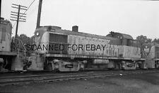 ORIGINAL PHOTO NEGATIVE-Railroad Delaware & Hudson #4061 Mechanicville New York