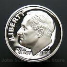 2006-S Roosevelt Dime 90% Silver - Gem Proof Deep Cameo U.S. Coin