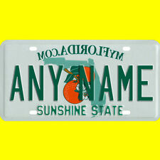 Custom Florida Vanity License Plate - Novelty Only