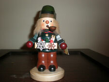 Christian Ulbricht Smoker Toy Vendor Nutcracker Approx. 7 Inches New No Box