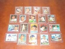 1996 Topps Mantle Finest Refractor 1-19 Complete Reprint set Mickey Mantle