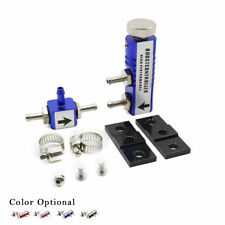 Universal Adjustable Racing Turbo Manual Boost Bypass Controller Kit 30PSI Blue