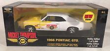 ERTL American Muscle Diecast Car Cragar Mickey Thompson 1966 Pontiac GTO 1/5000