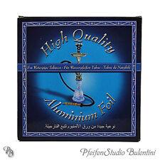 Shisha Wasserpfeife Alufolie vorgestanzt Ø12cm 100 Stück / Folien pro Packung