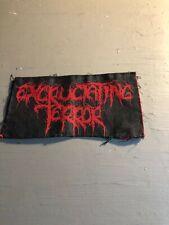 [9099 - PA1] Patch tissus pour t-shirt - coton - Punk- Anarchie Terror