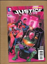 JUSTICE LEAGUE #34  INCENTIVE VARIANT COVER  DC COMICS NEW 52