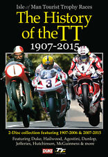 History of the TT 1907-2015 [2 DVDs] NEU DVD Motorrad Isle of Man TT
